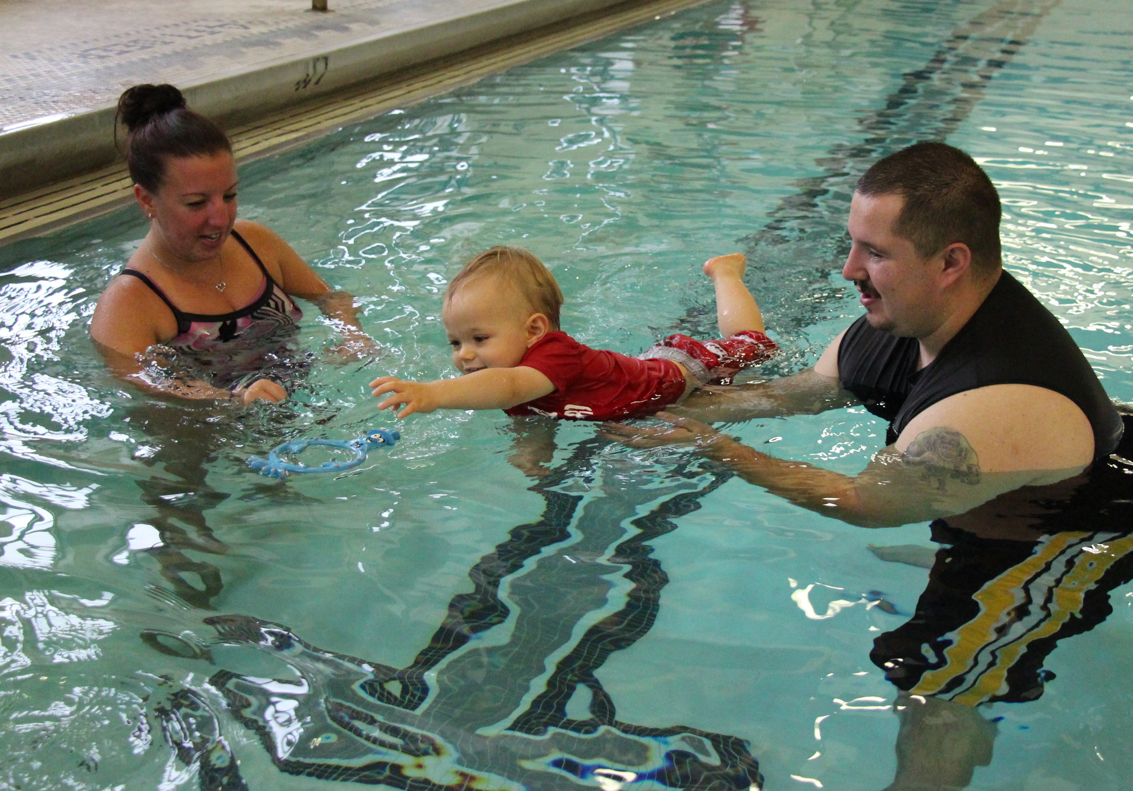 Swim Lessons for ages 6 to 18 months